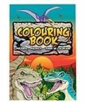 Hobby dino dinosaurussen thema a kleurboek tekenboek paginas