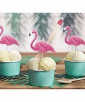 Hobby flamingo cocktailprikkers stuks
