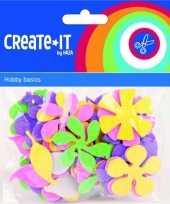 Hobby foam rubberen bloemen st 10121618