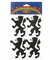 Hobby foam stickers leeuw vijf stuks