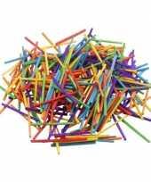 Hobby gekleurde lucifer stokjes gram
