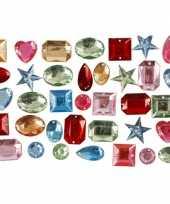 Hobby gekleurde plak diamantjes mix gr