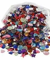 Hobby gekleurde plak diamantjes stuks 10073134