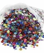 Hobby gekleurde plak diamantjes stuks