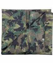 Hobby groen camouflage afdekzeil m 10048680