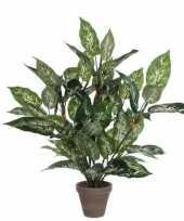 Hobby groene dieffenbachia kunstplant pot 10181841
