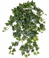 Hobby groene witte hedera helix klimop kunstplant buiten