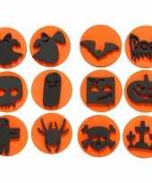 Hobby halloween foam stempels stuks