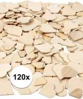 Hobby houten mozaiek hartjes stuks 10117562