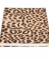 Hobby kaftpapier panter luipaard rol