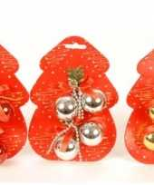 Hobby kleine kerstballetjes stuks