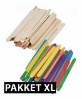 Hobby knutselhoutjes pakket xl