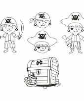 Hobby krimpfolie piraat vellen