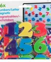 Hobby magnetische cijfers stuks