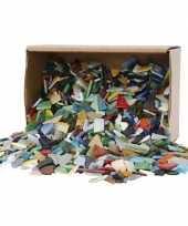 Hobby mozaiek glas kleuren mm