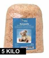 Hobby naturel houtwol kilo vulmateriaal 10170656