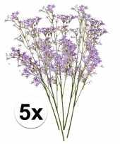 Hobby paarse kroonkruid kunstbloemen tak 10105908
