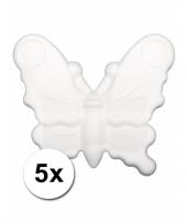 Hobby piepschuim vlinders 10078613