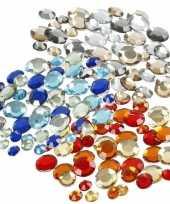 Hobby plak diamantjes steentjes mix set stuks 10115655