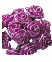 Hobby roze roosjes satijn 10086068