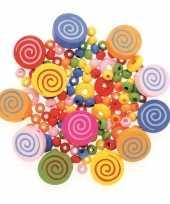 Hobby sieraden maken kralenmix set cirkels