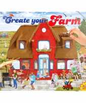 Hobby stickerboek boerderij jongens