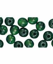 Hobby stuks groene kralen mm
