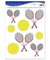 Hobby tennis thema stickervel