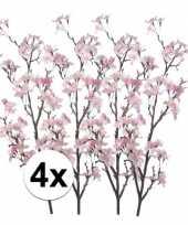 Hobby x appelbloesem roze kunstbloemen 10107357