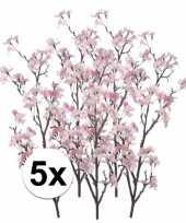 Hobby x appelbloesem roze kunstbloemen 10107358
