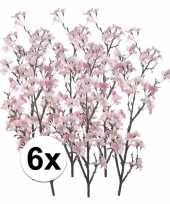 Hobby x appelbloesem roze kunstbloemen 10107359