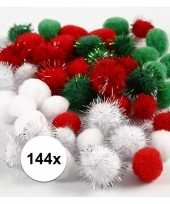 Hobby x gekleurde knutsel pompons mm 10108921