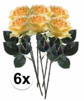Hobby x gele rozen simone kunstbloemen 10107287