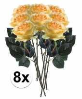 Hobby x gele rozen simone kunstbloemen 10107288