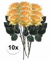 Hobby x gele rozen simone kunstbloemen