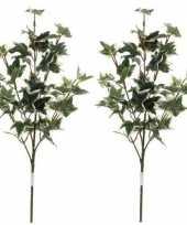 Hobby x groen geelbonte hedera klimop kunsttak kunstplant
