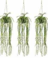 Hobby x groene ficus pumila kunstplanten pot