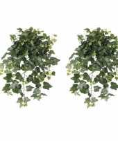 Hobby x groene hedera helix klimop kunstplant buiten 10162587