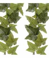 Hobby x groene hedera helix klimop kunstplant slingers