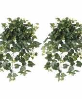 Hobby x groene hedera helix klimop kunstplanten buiten