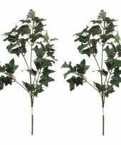Hobby x groene hedera klimop kunsttak kunstplant