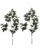 Hobby x groene hedera klimop kunsttakken kunstplanten