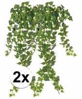 Hobby x groene klimop takken kunstplanten 10107362