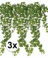 Hobby x groene klimop takken kunstplanten 10107363
