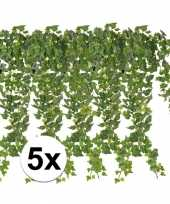 Hobby x groene klimop takken kunstplanten
