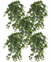 Hobby x groene witte hedera helix klimop kunstplant buiten 10153436