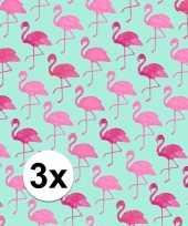 Hobby x inpakpapier flamingo motief rol 10124717