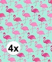 Hobby x inpakpapier flamingo motief rol 10124718