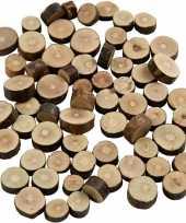 Hobby x kleine houten schijfjes gram