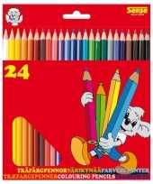 Hobby x kleurpotloden verschillende kleuren